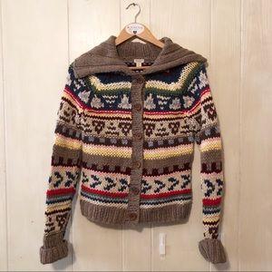 AEO | Nordic Fair Isle Chunky Hand Knit Sweater